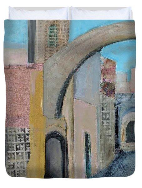 Old City Duvet Cover