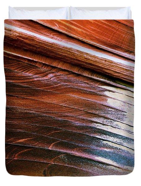 Rock Formations, Vermillion Cliffs Duvet Cover