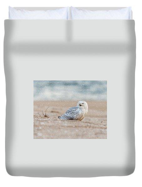 Snowy Owl  Duvet Cover