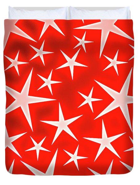 Star Burst 3 Duvet Cover