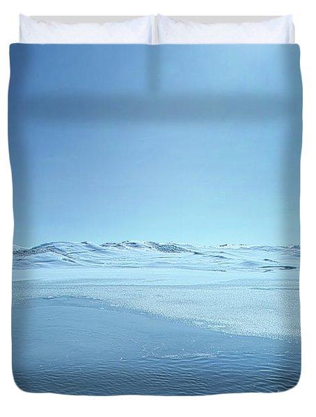 Duvet Cover featuring the photograph Stillness by Phil Koch