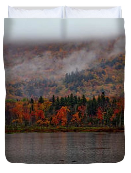 The Basin In Maine Duvet Cover