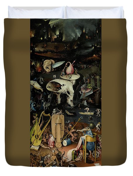The Garden Of Earthly Delights, Right Panel Duvet Cover