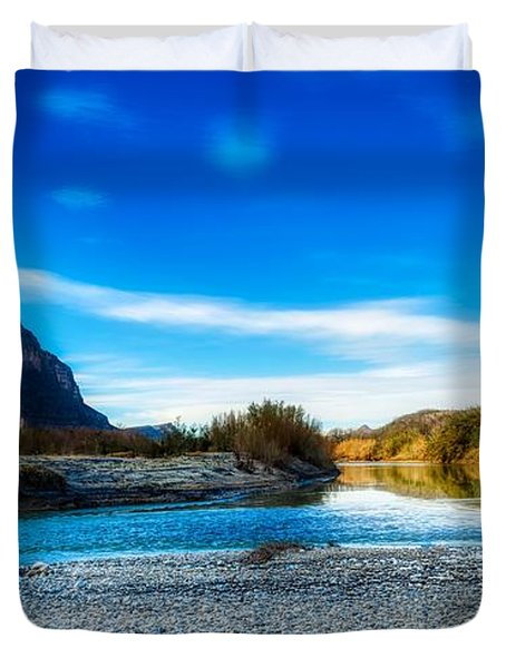 The Rio Grande River Duvet Cover