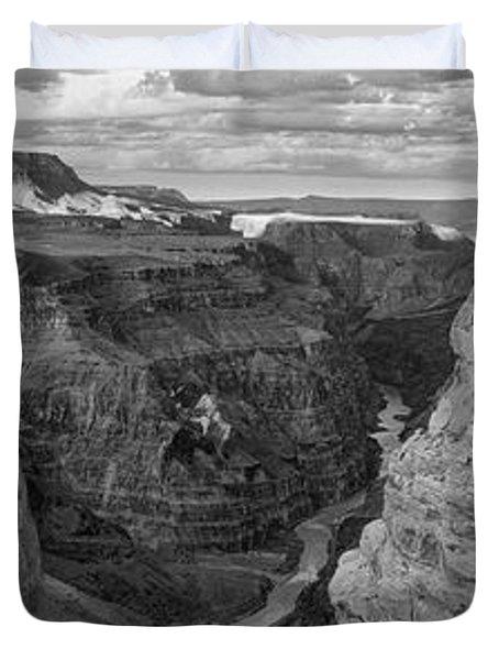 Toroweap Point, Grand Canyon, Arizona Duvet Cover