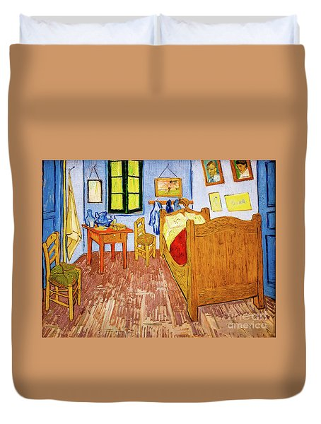 Van Gogh's Bedroom At Arles Duvet Cover