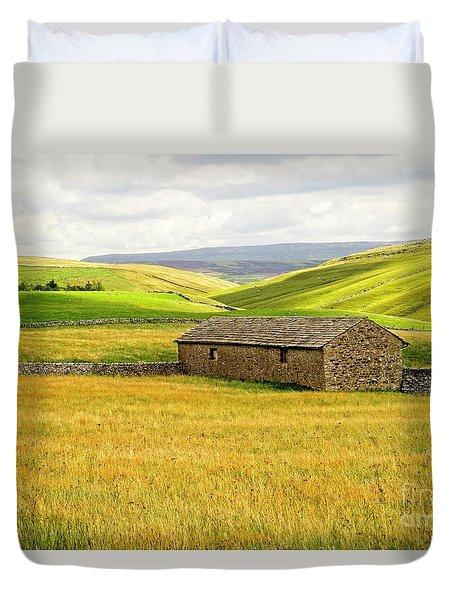 Yorkshire Dales Landscape Duvet Cover