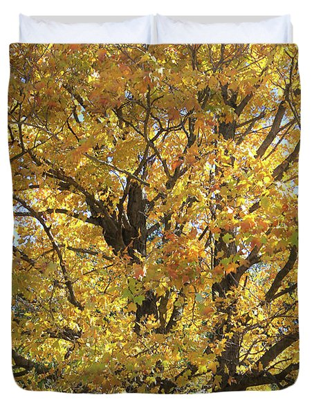 2018 Edna's Tree Up Close Duvet Cover