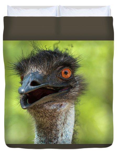 Australian Emu Outdoors Duvet Cover