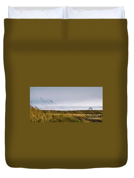 Beautiful Panoramic Photos Of Icelandic Landscapes That Transmit Beauty And Tranquility. Duvet Cover