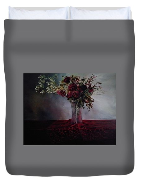 Beauty For Ashes Duvet Cover