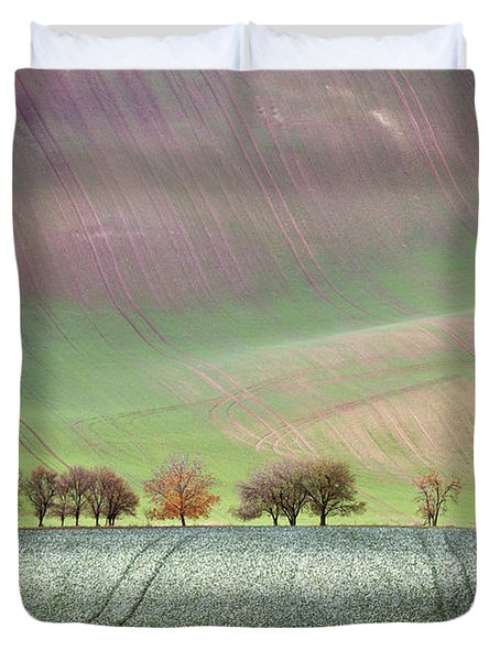 Autumn In South Moravia 3 Duvet Cover