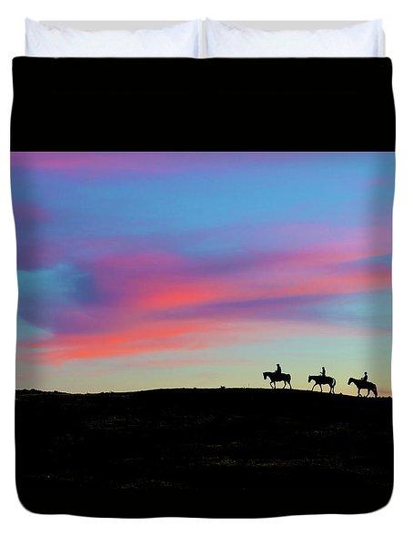 3 Horsemen Duvet Cover