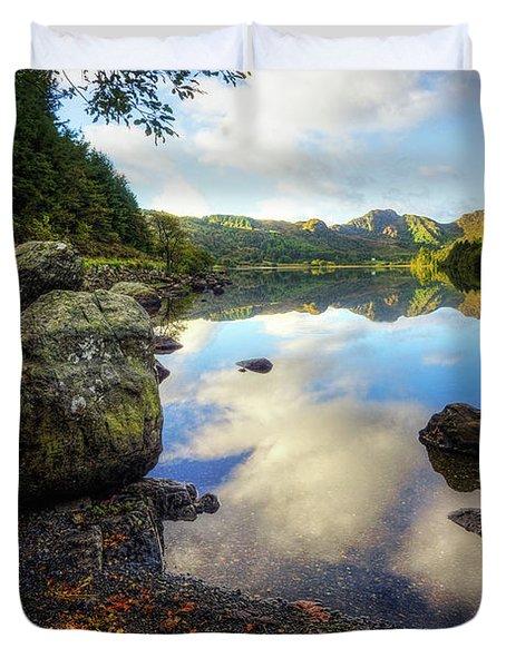 Llyn Crafnant Duvet Cover
