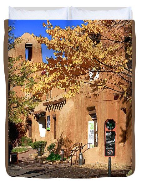 New Mexico Museum Of Art Duvet Cover