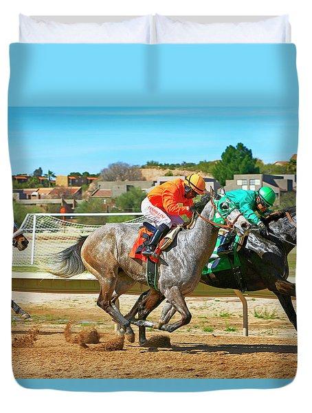 Rillito Park, Tucson Az Duvet Cover