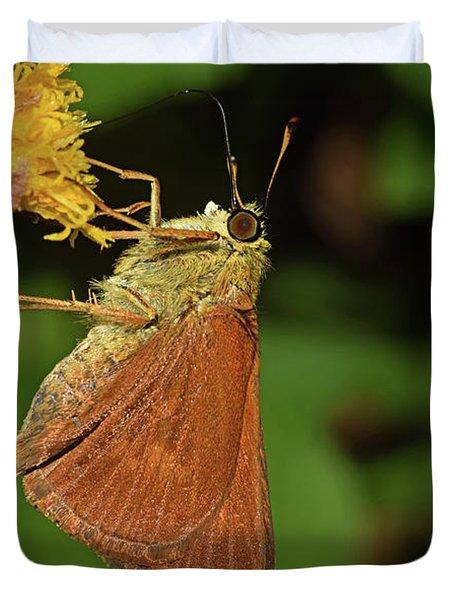 Skipper Butterfly Duvet Cover