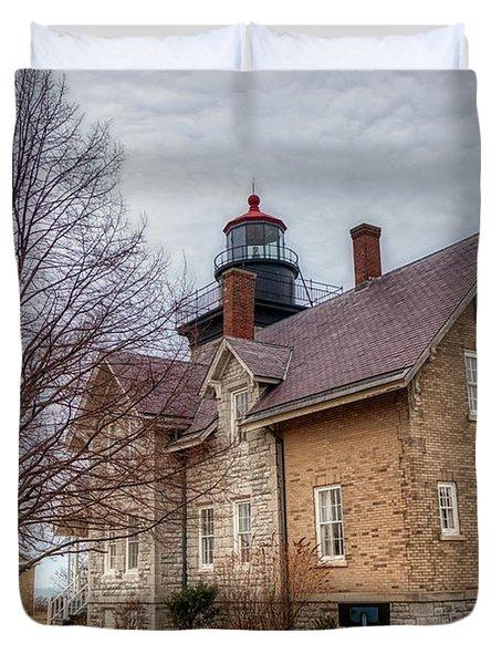 30 Mile Lighthouse  Duvet Cover