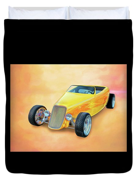 33 Speedstar Duvet Cover
