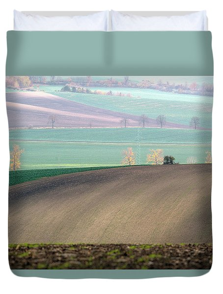 Autumn In South Moravia 5 Duvet Cover