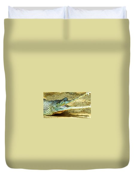 Saw Teeth Duvet Cover