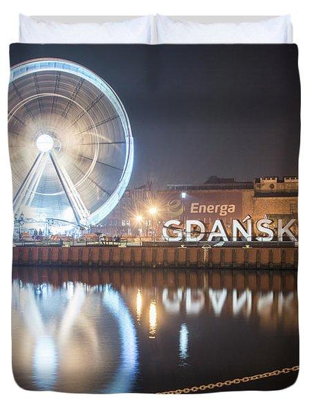 Gdansk, Poland Duvet Cover