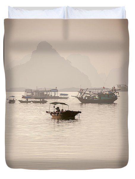 Ha Long Bay Duvet Cover