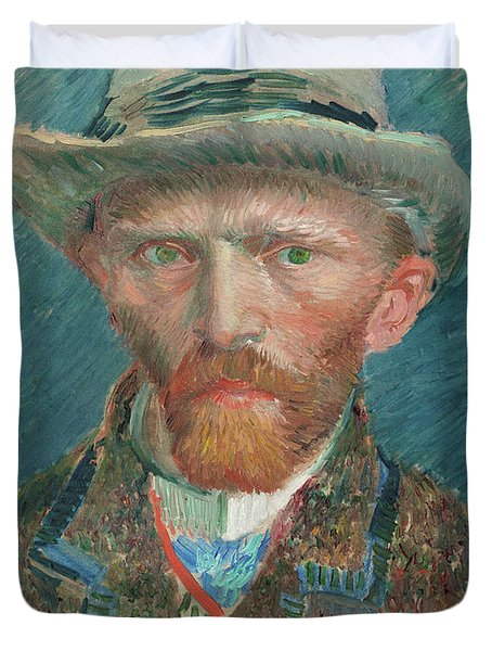 Self-portrait, 1887 Duvet Cover