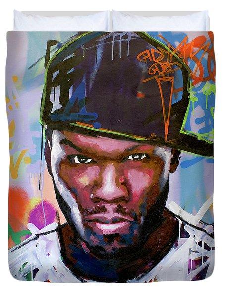 50 Cent Duvet Cover