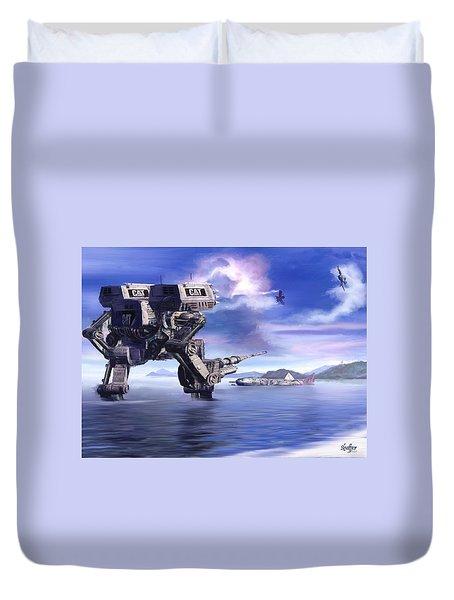 501st Mech Defender Duvet Cover
