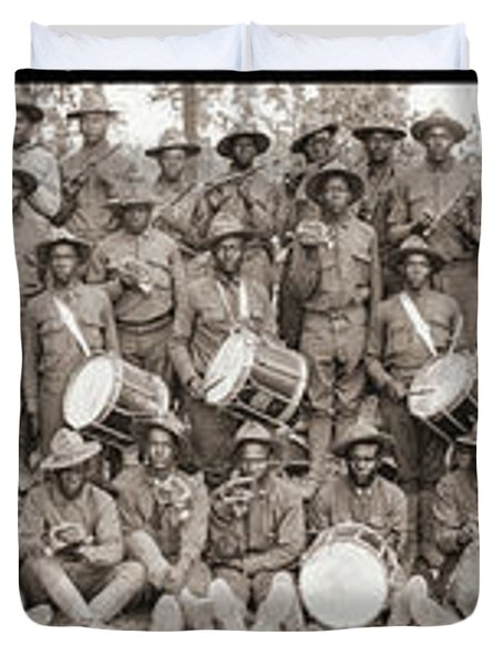 521-522-523-524 Service Battalion Duvet Cover