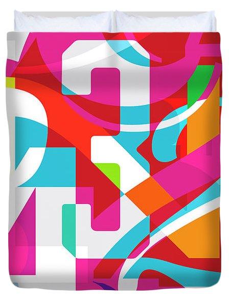 54321 Duvet Cover