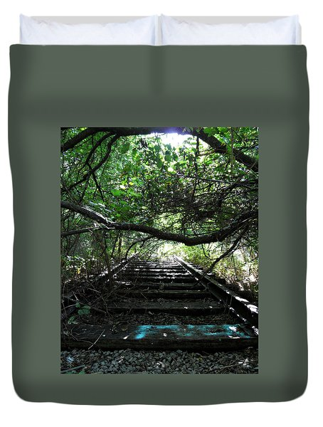 Whispering Corners Duvet Cover