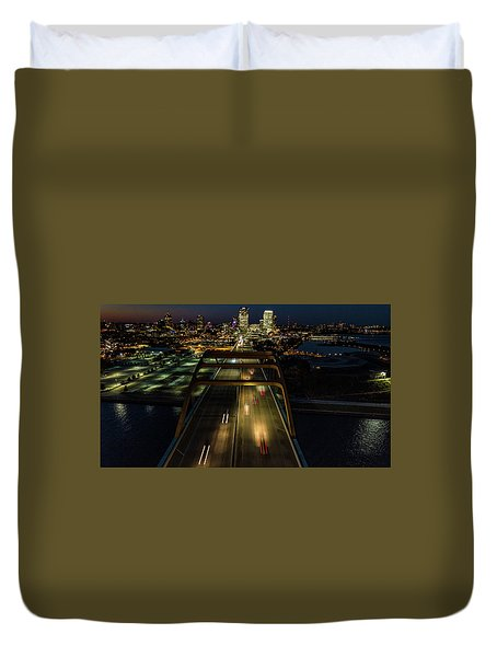 Duvet Cover featuring the photograph 794 by Randy Scherkenbach
