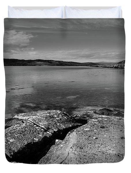 Loch Na Keal Duvet Cover