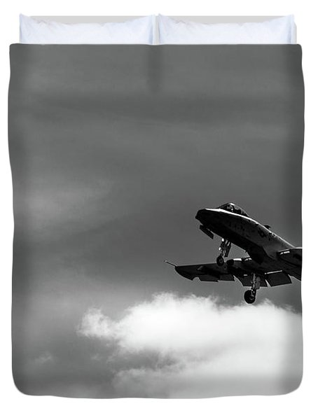 A-10 Slow Pass Duvet Cover