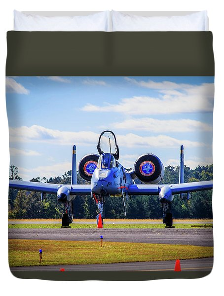 A-10c Thunderbolt II Duvet Cover