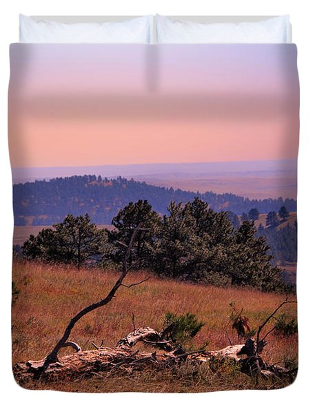 Autumn Day At Custer State Park South Dakota Duvet Cover