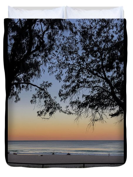 A Beautiful Place To Be Duvet Cover