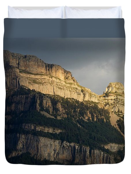 Duvet Cover featuring the photograph A Blast Of Light by Stephen Taylor