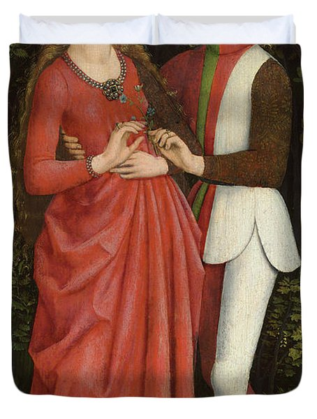 A Bridal Couple, 1470 Duvet Cover