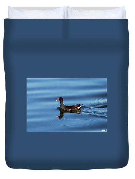 A Day For Reflection Duvet Cover