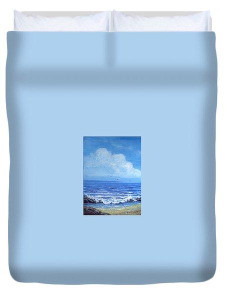 A Distant Shore Duvet Cover