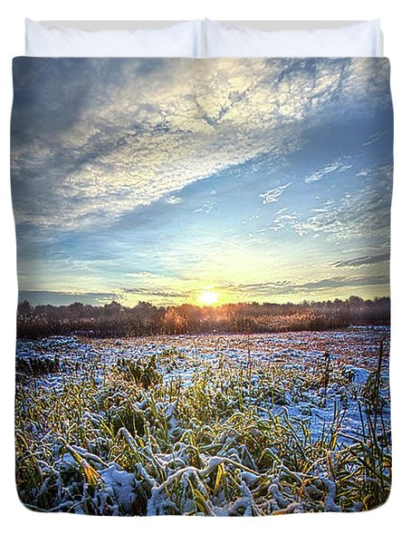 Duvet Cover featuring the photograph A Dream Is A Wish That The Heart Makes by Phil Koch