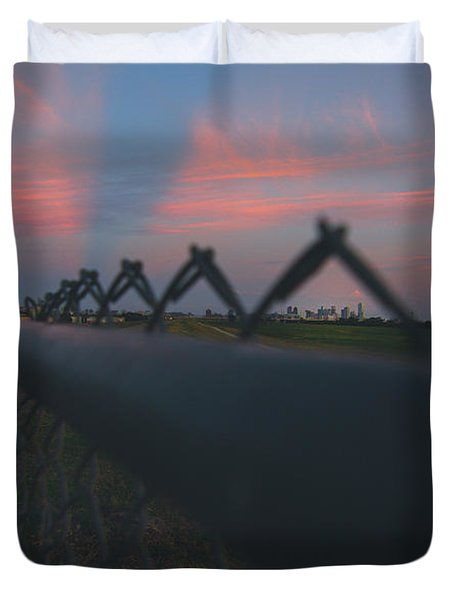 A Fence Duvet Cover