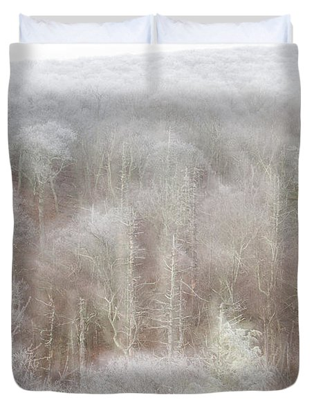 A Ghost Of Trees Duvet Cover