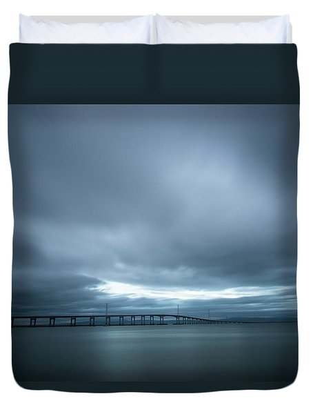 A Hole In The Sky Duvet Cover