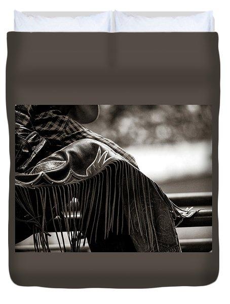 A Leg Up Duvet Cover