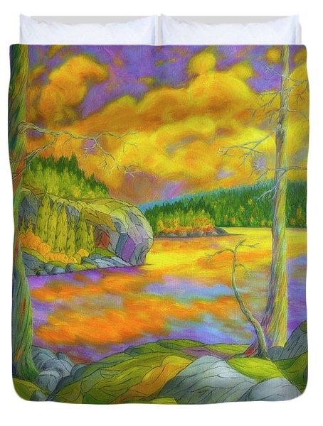 A Magical Wilderness Duvet Cover