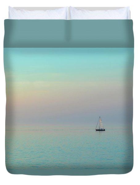 A Mid-summer Evening Duvet Cover